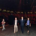 Baku Crystal Hall построен в соответствии с Распоряжением Президента Ильхама Алиева от 11 июля 2011 года