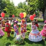 В Баку прошел ежегодный Праздник цветов