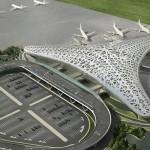 Новый терминал бакинского международного аэропорта