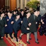 Похороны вождя Северной Кореи Ким Чен Ира