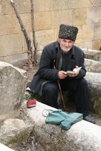 В цитадели Нарын-кала, Дербент