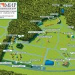 Карта этно деревни