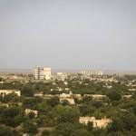Панорама разрушенного города