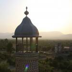 Вид на город с башни минарета