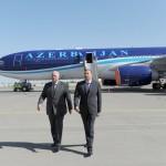 Джахангир Аскеров и Ильхам Алиев