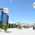 Новый садово-парковый и фонтанный комплекс в Баку