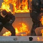 Беркут в огне Майдана