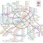 Возможная схема метро Москвы 2017 года