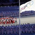 Церемония закрытие XXII зимних Олимпийских игр