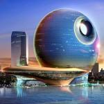 Проекты торгово-гостиничного комплекса  Полумесяц и Залив полной луны