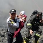Пожар в Баку